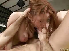Rocco and his nasty girls perform great threesome.