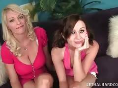 Hot Charlee Chase takes her daughter Mae Meyers into business.